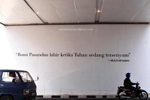 That's why I love Bandung
