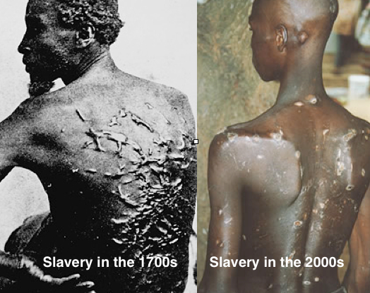 Slavery Then and Now